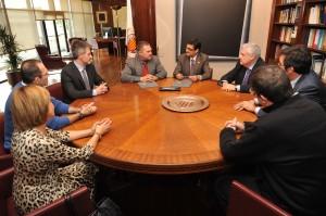 Firma Convenio UPV - La Fe